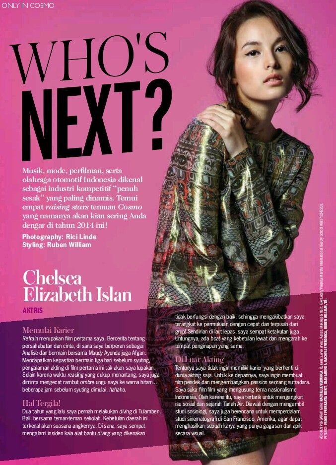 The next big thing, Indonesian beauty
