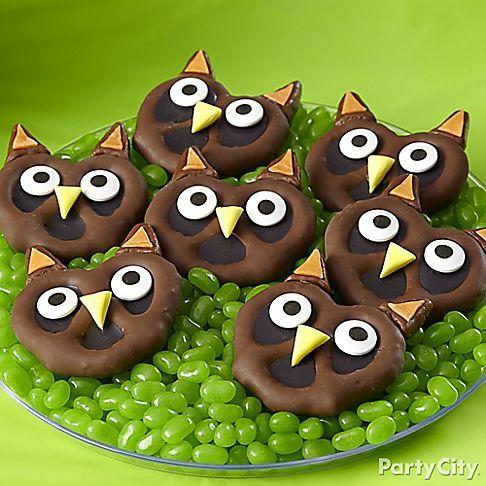 Pretzel owls