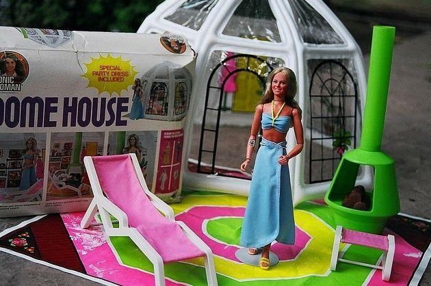 Bionic Woman Doll House Bionic woman dome housedome