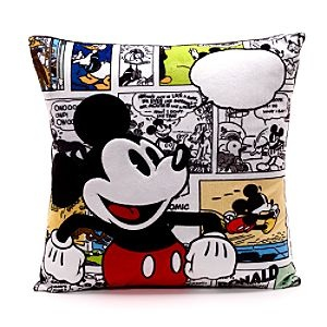 Mickey Mouse Personalised Comic Cushion with Removable Cover-love this!