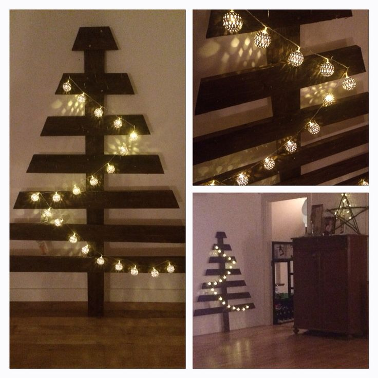 Christmas tree in Wood