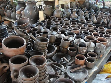 How to cure Pomaire pots