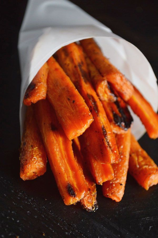 Caramelized Carrots - such a great side  dish for fall!