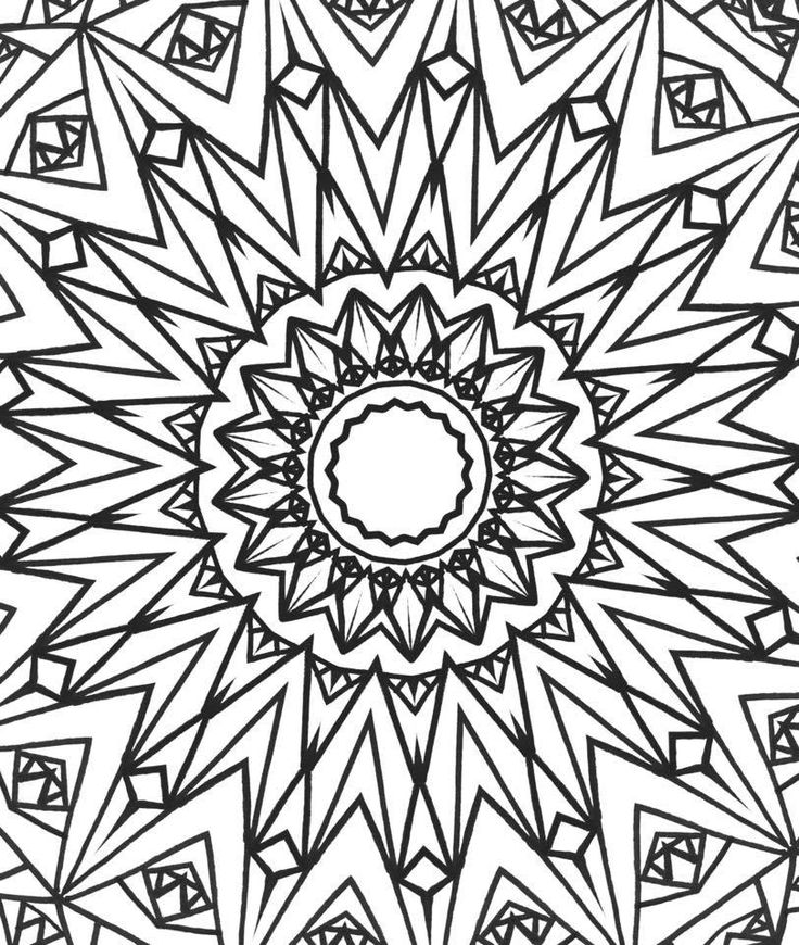 Coloring book with markers : Free to color adult coloring pages