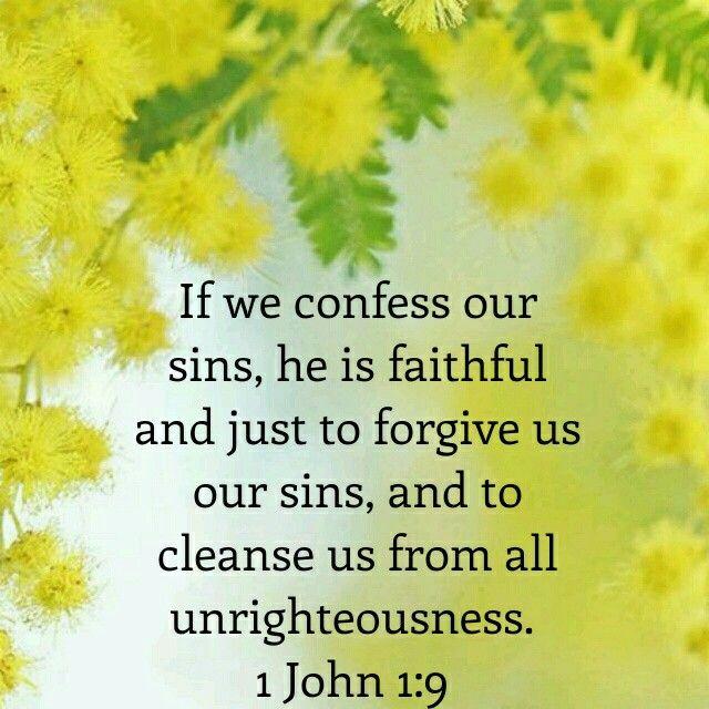 1 John 1:9 KJV