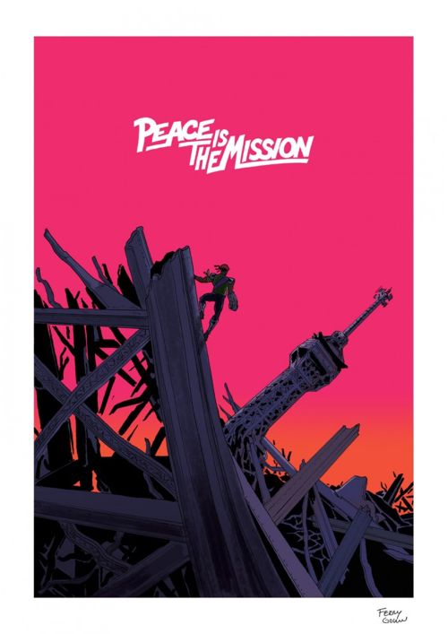 "Major Lazer ""Peace is the Mission"" Art Print by Ferry Gouw"