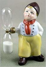 Porcelain Figural Dutch Boy Sand Egg Timer