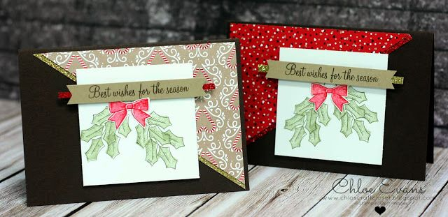 Chlo's Craft Closet - Stampin' Up! Independent Demonstrator: One Sheet Wonder Christmas Special - Holly Berry Happiness