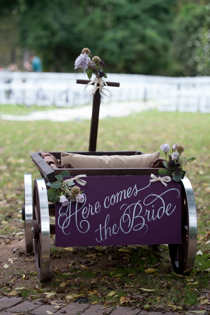 "For benjamin and Ella Flower Wagon ""Here Comes The Bride"" by Bold American Events"
