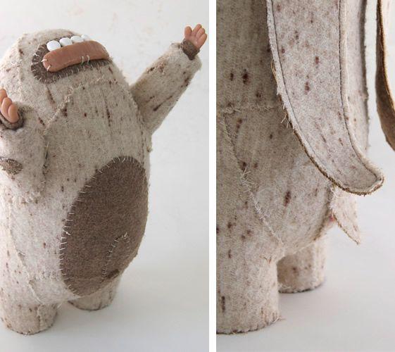 New York based artist Joshua Longo's monsters.