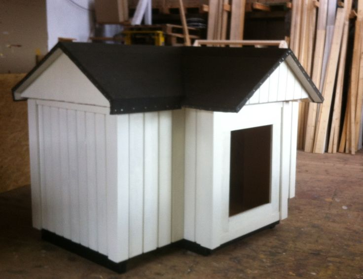 Made this for some one he wanted his Dog kennel same as his house in Lidingö, Stockholm