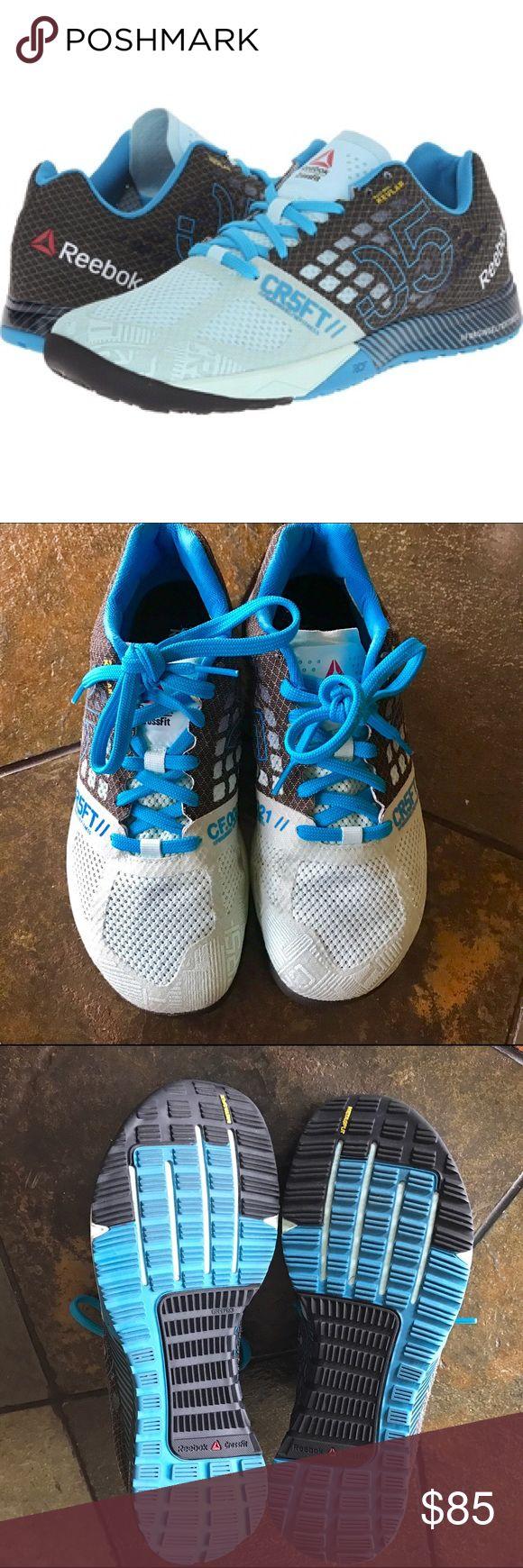 Women's Reebok Crossfit Nano 5 Reebok Nano 5 COOL BREEZE/BLACK/FAR OUT BLUE (light aqua blue & black). Excellent condition. Reebok Shoes Sneakers