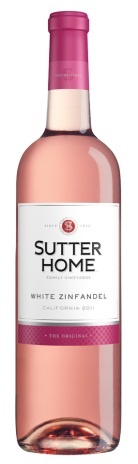 Sutter Home White Zinfandel - a go-to wine varietal for spring!