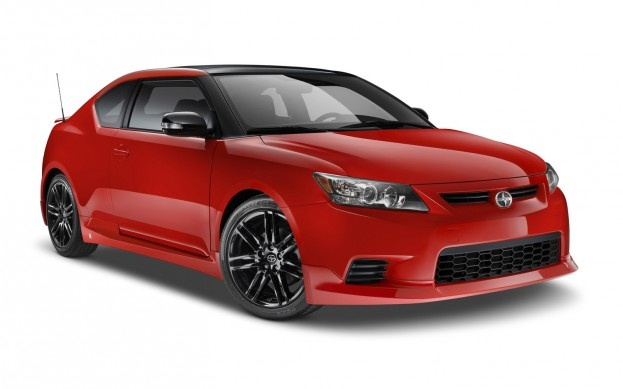 2013 Scion tC 8.0 - this sporty release series coupe is one of a kind, with a specially designed body kit, 18 inch black alloy wheels, and a sizzling red body color that's perfectly offset by a dark interior (with hot red stitching). Come into Toyota of North Charlotte today to take a look at this unique vehicle, designed by Scion, Five Axis Design, and Toyota Racing Development!     http://blog.toyotaofnorthcharlotte.com/2012/toyota-of-n-charlotte-shares-2013-scion-prices-and-upgrades/