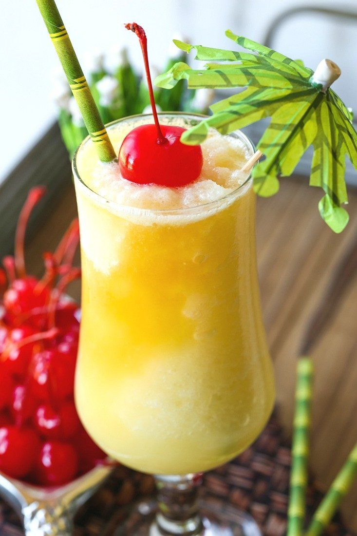 This Is The Best Pina Colada Recipe Don T Forget The Garnish It S All Part Of The Fun Pinacolada Cockt In 2020 Pina Colada Recipe Pina Colada Pineapple Rum Drinks