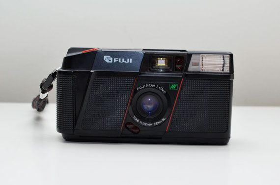 Vintage Fuji DL200 35mm Film Auto Focus Compact from the 1980s