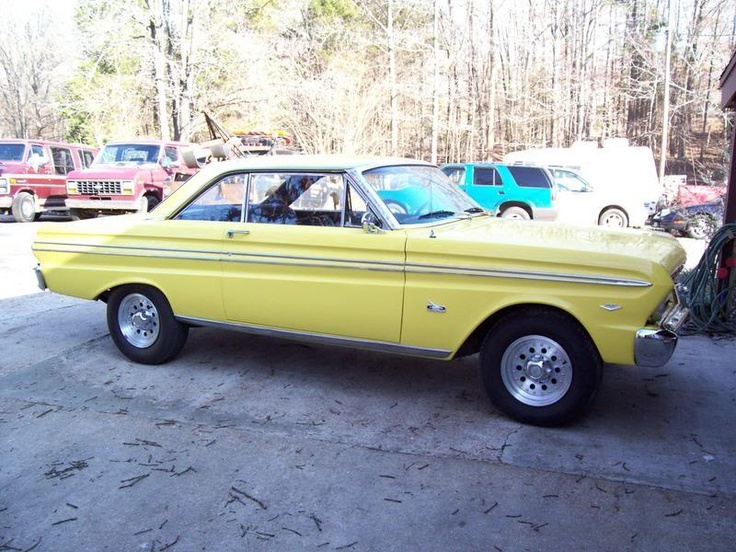 #Yellow 1965 Ford Falcon