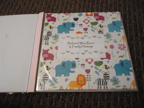 DIY: Baby Memory Book! - baby, i'm hooked.