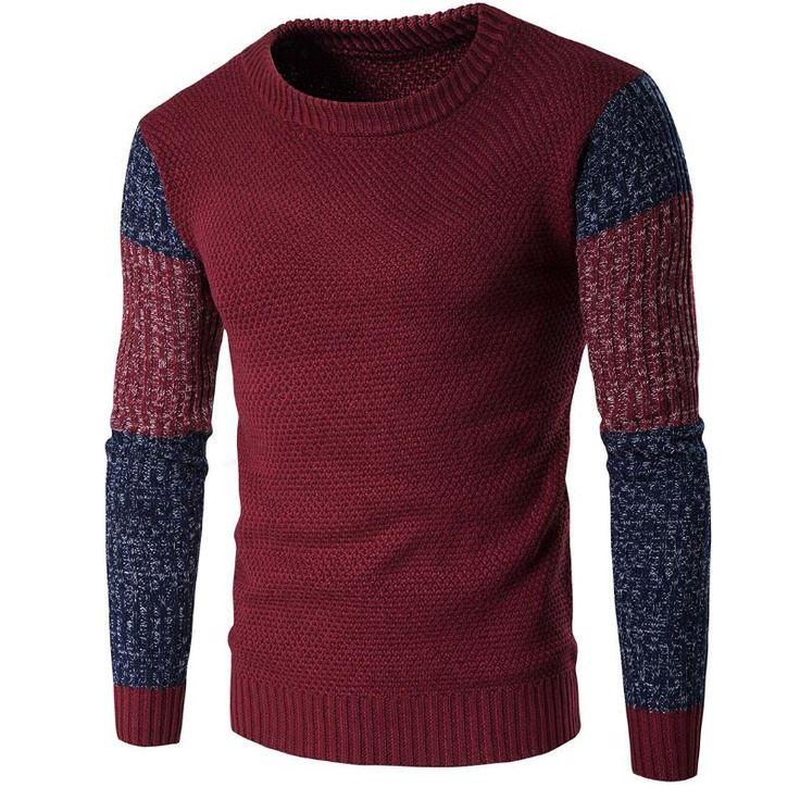 Men Pullover Winter 2017 Mens Christmas Sweaters Men's High-end Fashion Temperament Brand Sweater Men Men's Knitted Sweater Patt