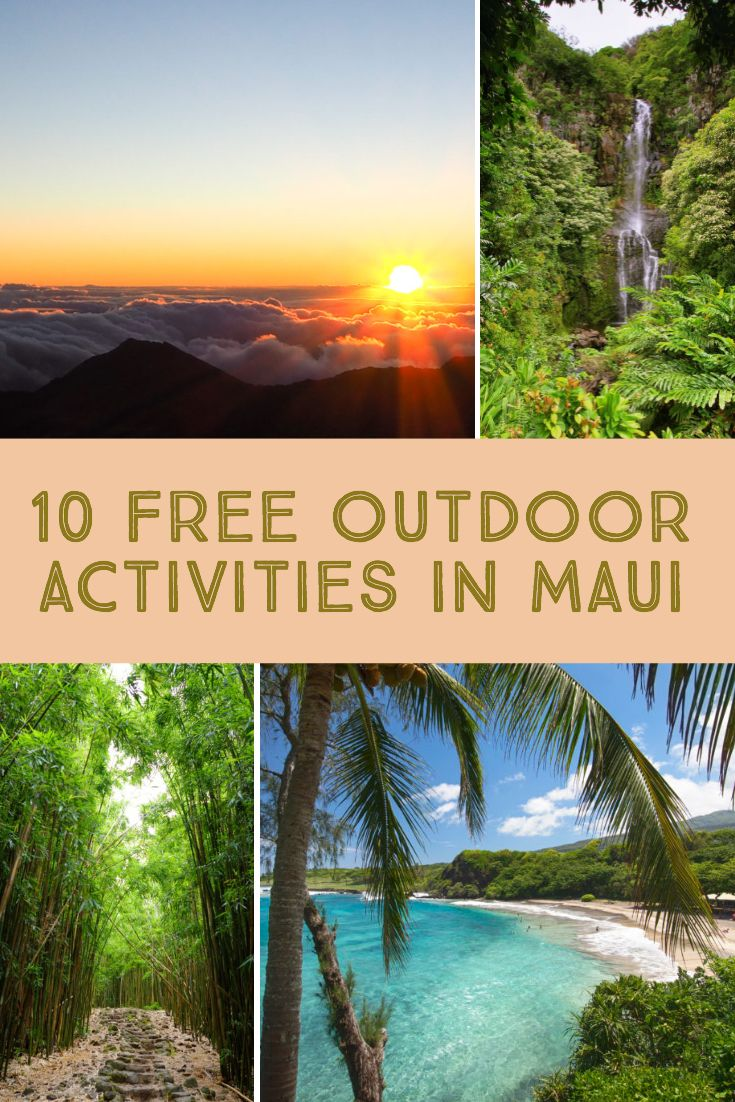 Top 10 Free Outdoor Adventures in Maui | Best of Adventure
