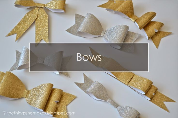 The Things She Makes: Ultimate Bows