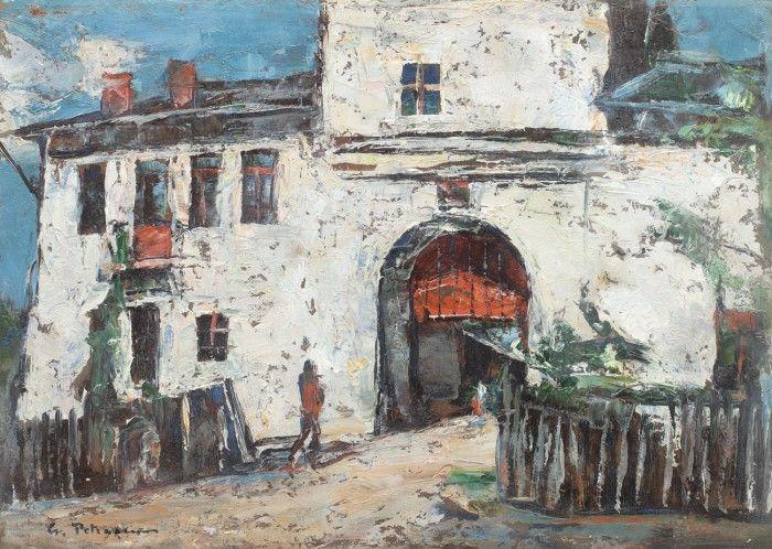 Gheorghe Petrașcu, Intrarea la Mănăstirea Târgoviște