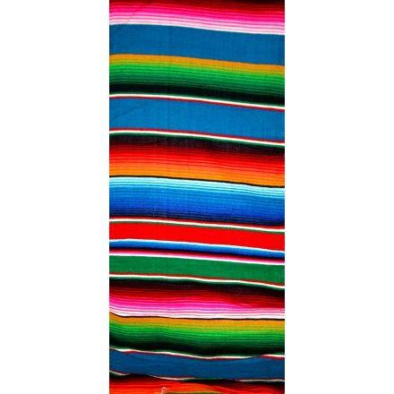 Couverture mexicaine colorée, facile d'entretient
