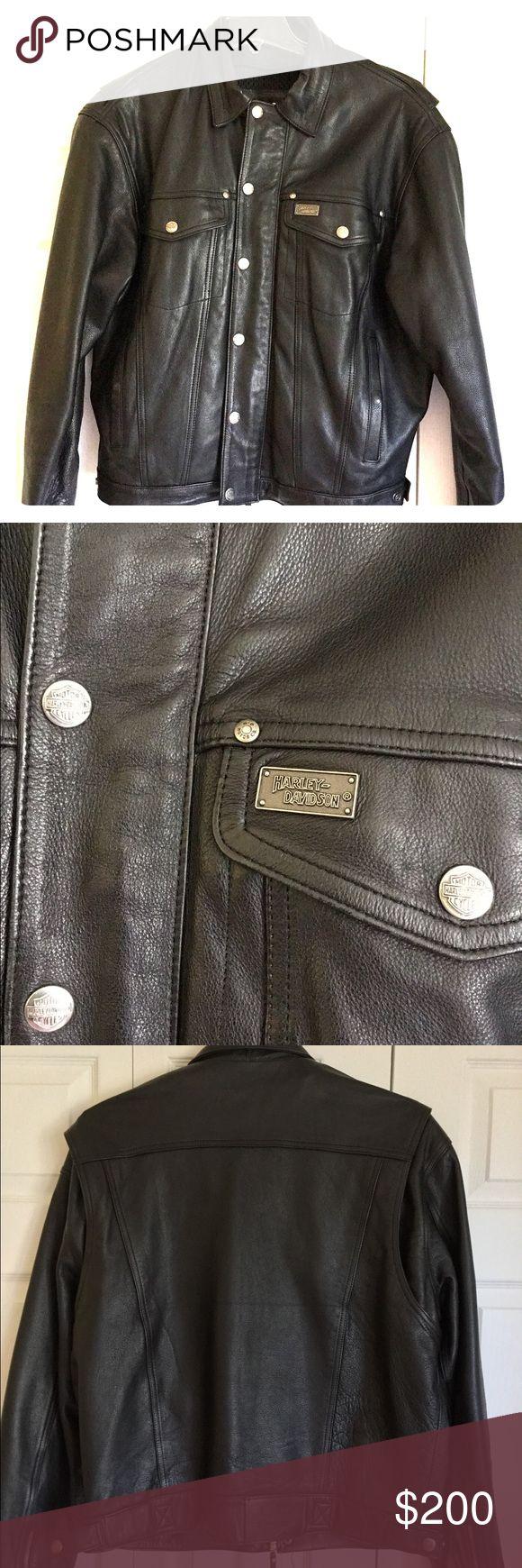 I just added this listing on Poshmark: Genuine Harley Davidson mens leather coat like new. #shopmycloset #poshmark #fashion #shopping #style #forsale #Harley-Davidson #Other