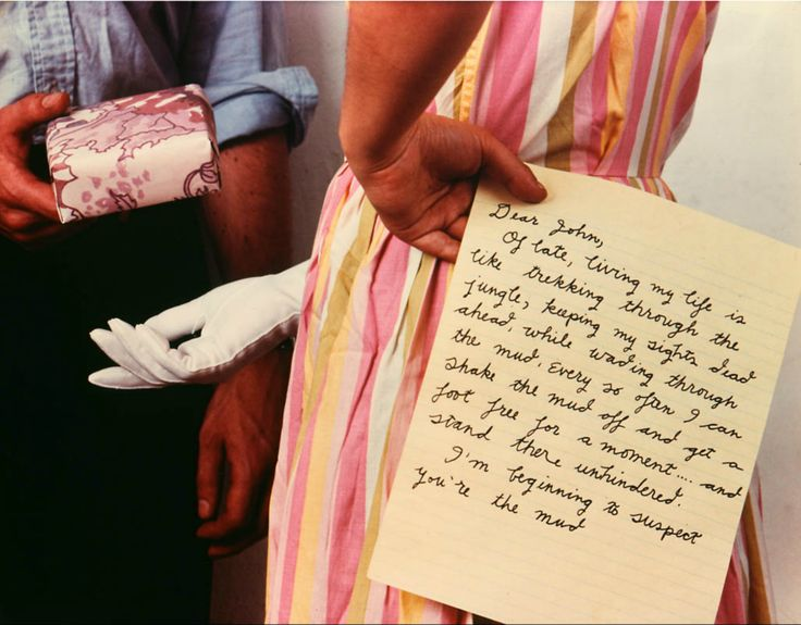 Anne Turyn Dear John,1981Any letters of your own you would like to part with?