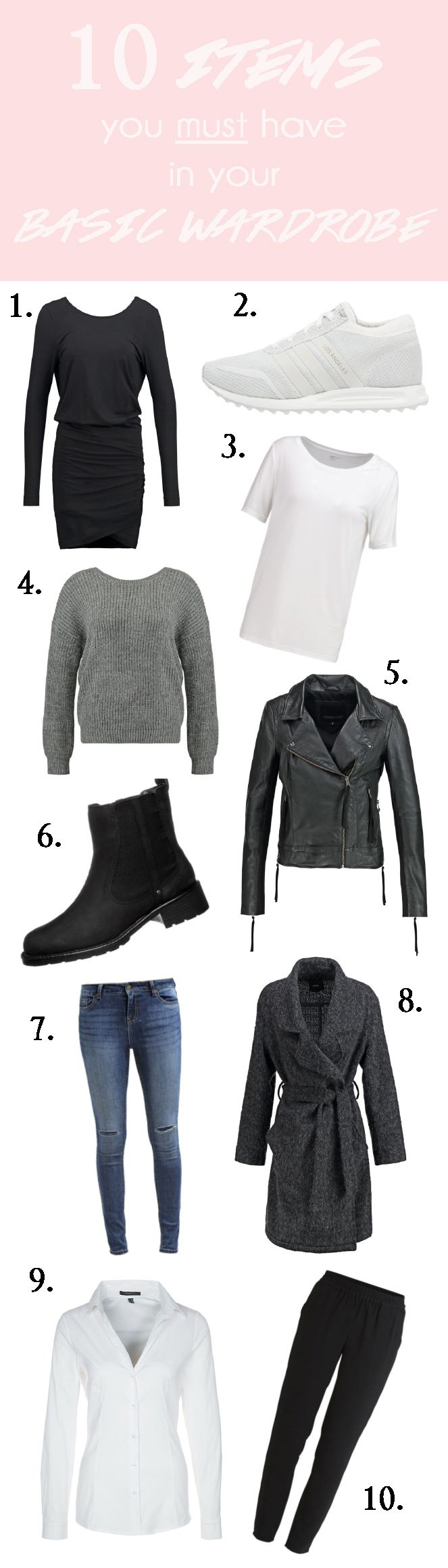 10 must have items for your basic wardrobe, fashion