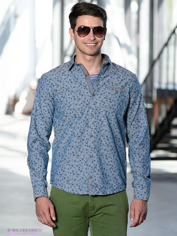 Выбрать в AMODERNA.RU  Элегантная рубашка с длинными рукавами и классическим отложным воротником