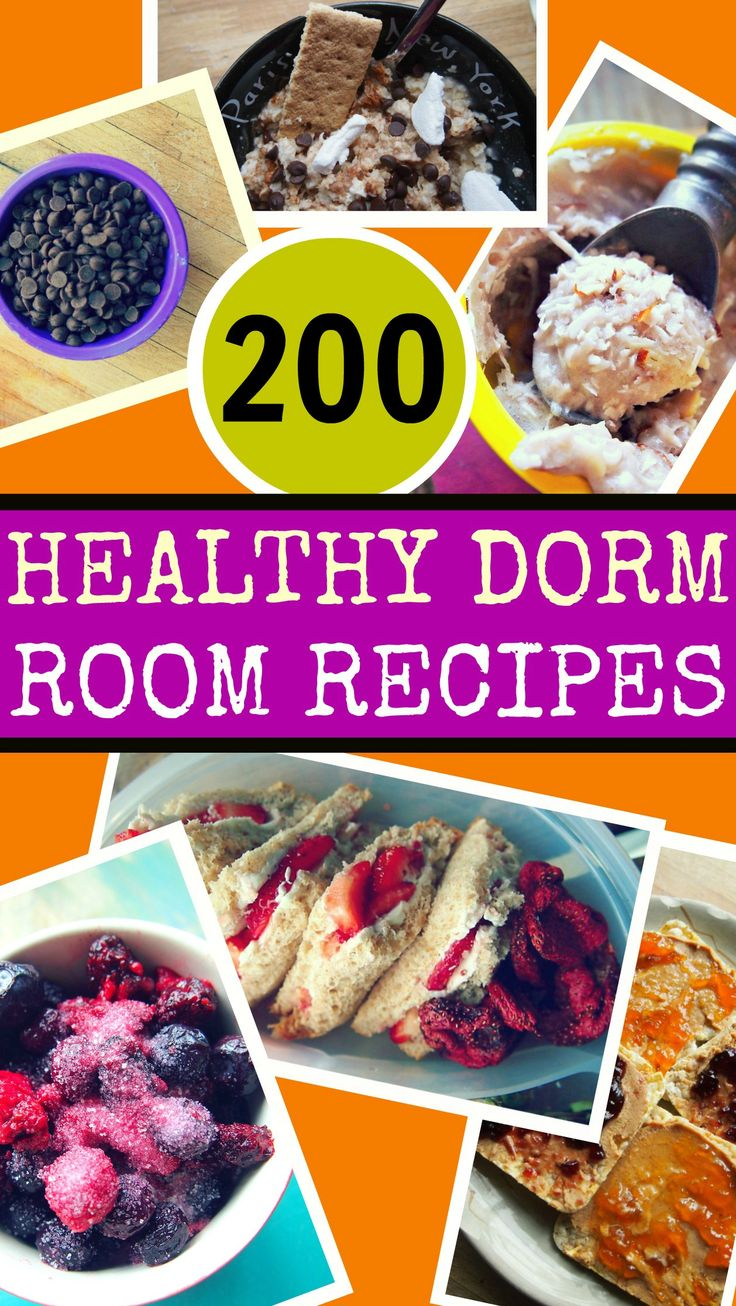 200 Healthy Dorm Room Recipes by Taralynn McNitt - I don't live in a dorm, but I think I may cook as though I still do.