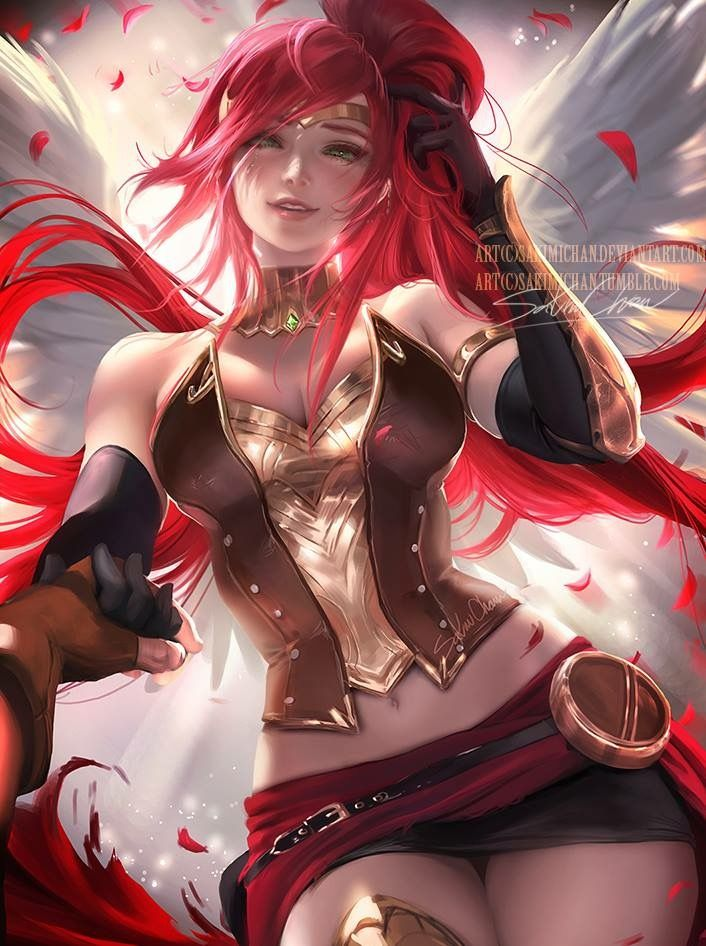 Rwby fan art of Pyrrah by Sakimi Chan