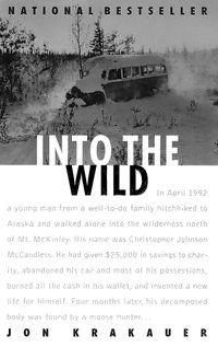 What would possess a gifted young man recently graduated from college to literally walk away from his life? Noted outdoor writer and mountaineer Jon Krakauer tackles that question in his reporting on Chris McCandless, whose emaciated body was found in an abandoned bus in the Alaskan wilderness in 1992.