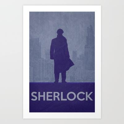 Sherlock Poster 01 Art