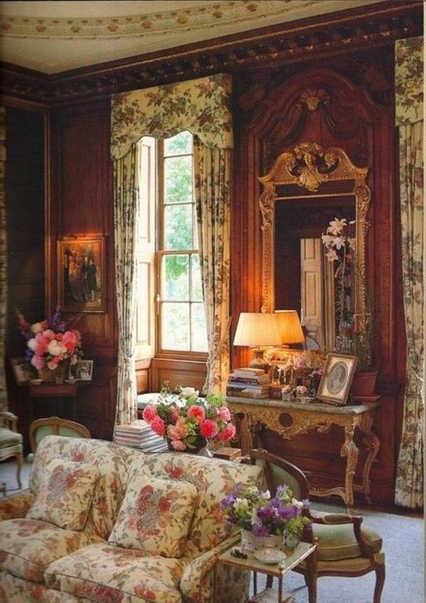 romantic victorian house interior
