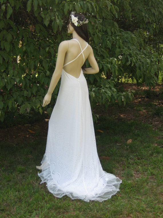 beach wedding gown by hippiebride hk bathing suit wedding so