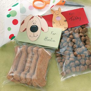 Dog Biscuits Recipe from Taste of Home. -- If members of your family are of the furry, four-legged kind, treat them to these homemade biscuits. They're a cinch to make, and your canine pals will go crazy for the peanut butter flavor.
