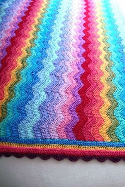 Free Crochet Afghan Patterns Using Variegated Yarn : 17 Best images about Variegated Yarn Patterns to Crochet ...