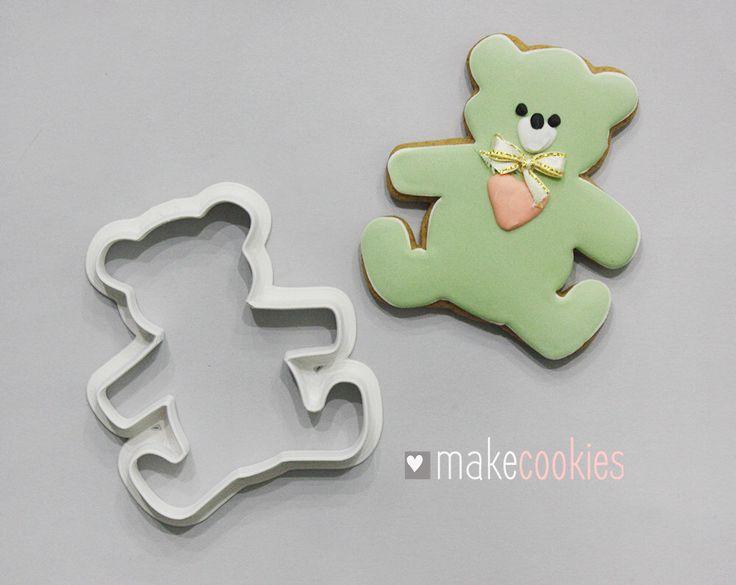 Teddy Bear Cookie Cutter  Etsy shop https://www.etsy.com/listing/482970988/teddy-bear-cookie-cutter