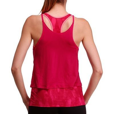 Canotte Materiale fitness, Palestra - Canotta donna BREATHE+ rosa DOMYOS - Attrezzi cardio