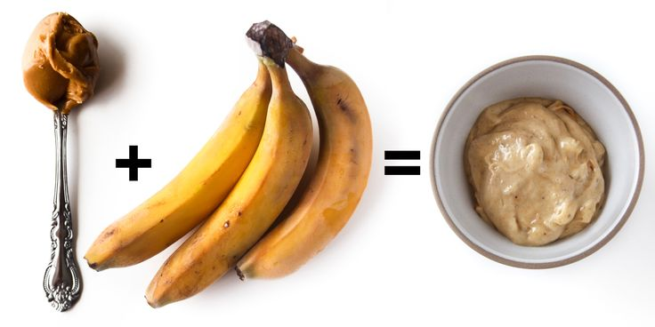 "Banana Peanut Butter ""Ice Cream""- 10 Delicious Two-Ingredient Peanut Butter Recipes -Cosmopolitan.com"