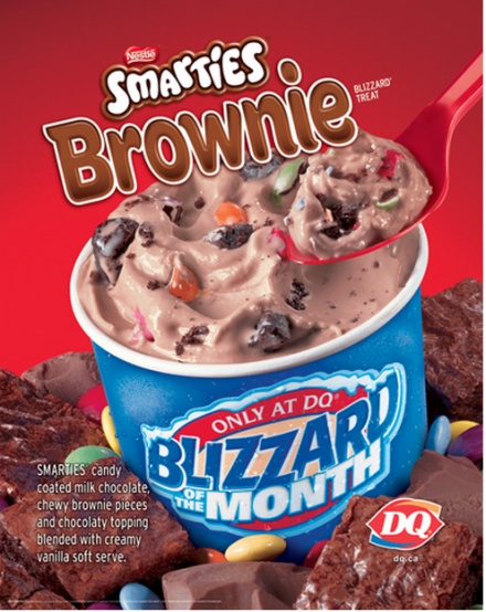 Calories In A Dairy Queen Brownie Ice Cream Cake