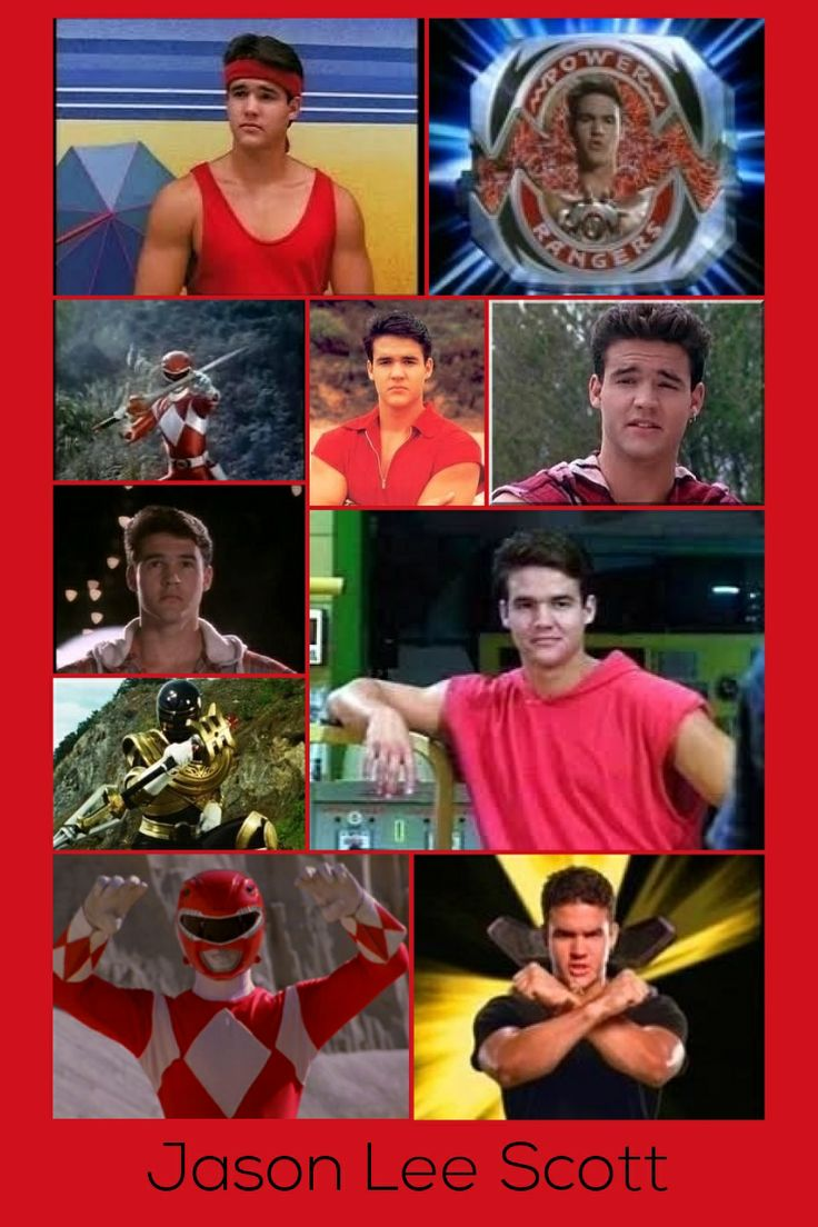 Jason Lee Scott-Red Mighty Morphin Ranger & Gold Zeo Ranger