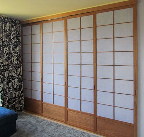 Cherry Tree Design Shoji Closet Doors Sliding Shoji 107
