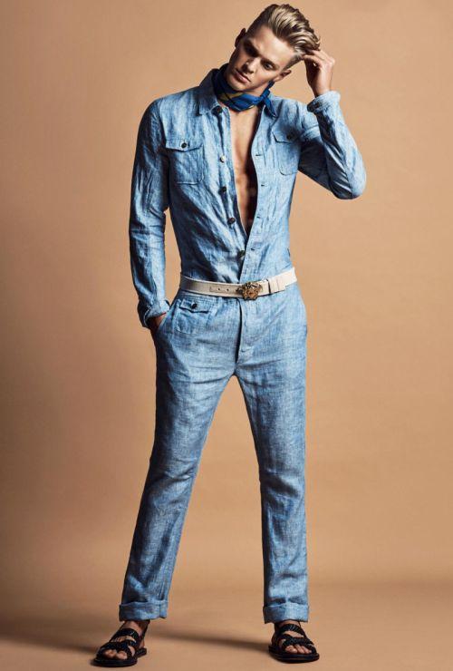 Clark Bockelman ph Damien Kim for Reflex Homme March/April 2016