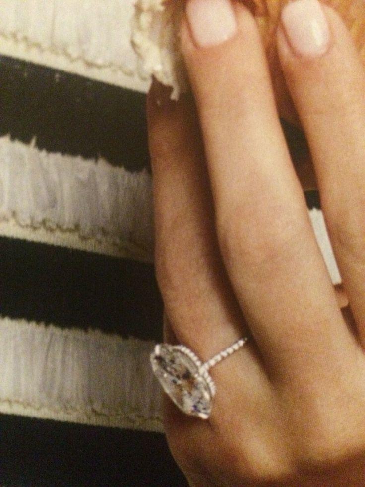 Kim Kardashian engagement ring by Lorraine Shwartz