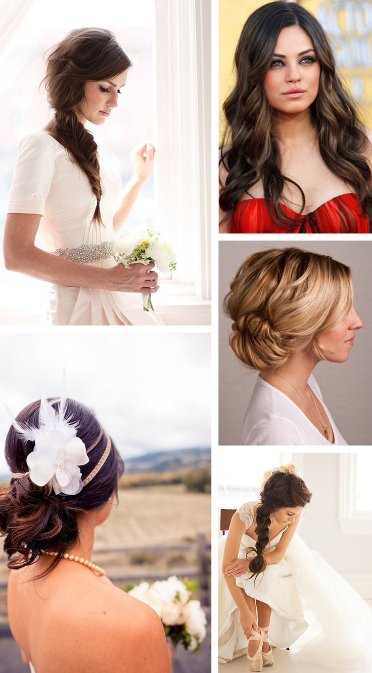 20 best bruidskapsels images on Pinterest | Bridal gowns, Bridal ...
