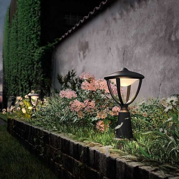 Philips myGarden Outdoor Latarnia Mała LED Robin 15472/30/16 : Oświetlenie zewnętrzne LED : Sklep internetowy Elektromag Lighting #outdoor #lighting #garden #lamp