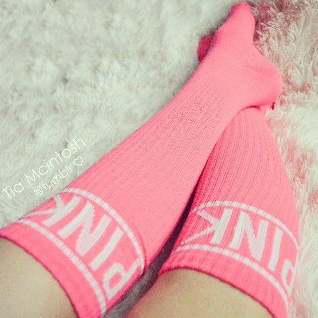 The perfect pink football socks #benebeautysquad
